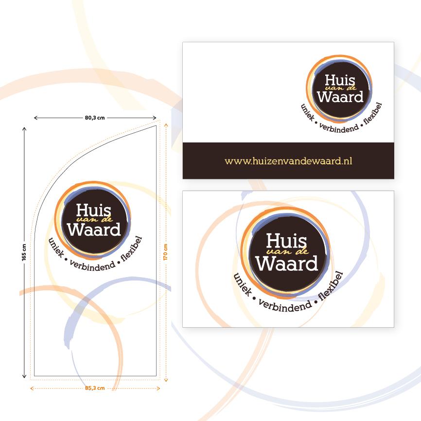 logo ontwerp Huis van de Waard