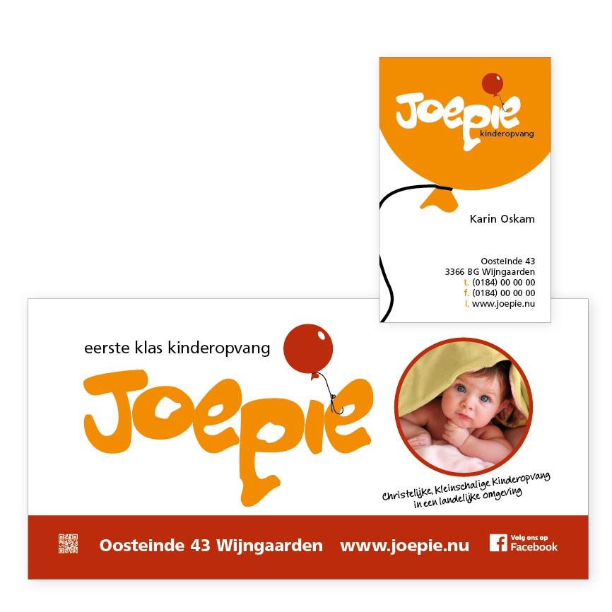 logo-ontwerp Joepie kinderopvang