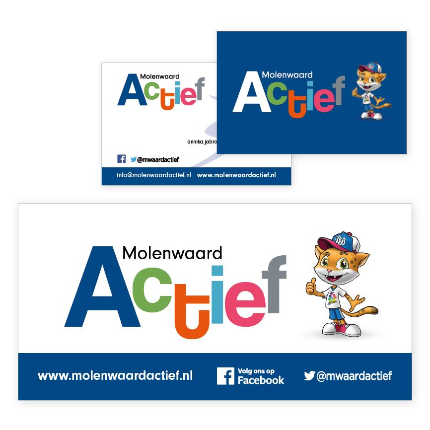 logo-ontwerp voor Molenwaard Actief